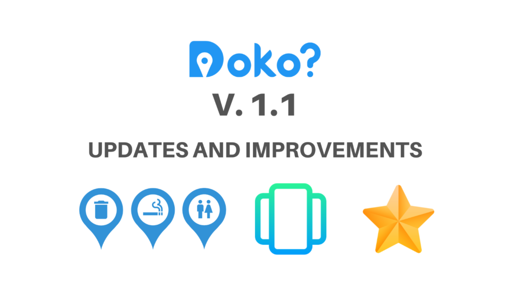 Doko? version 1.1
