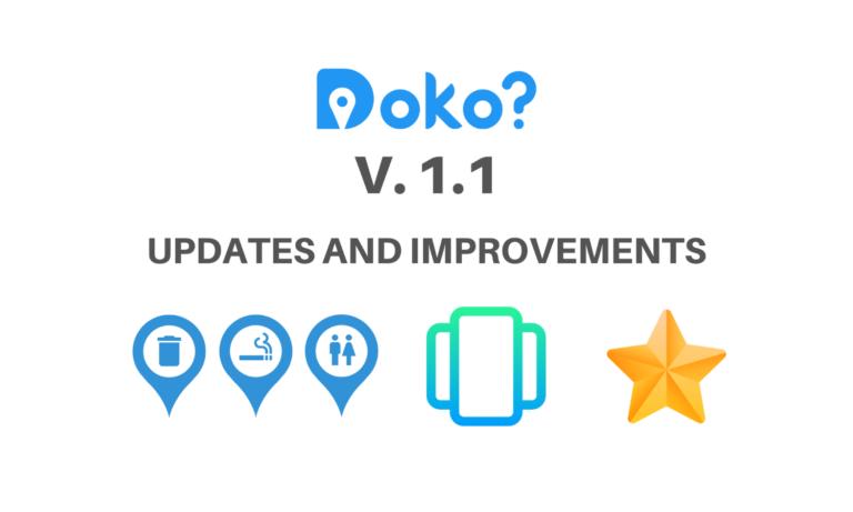 Doko? version 1.1